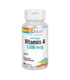 Vitamina A seca Solaray