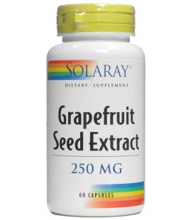 Grapefruit seed extract 250mg 60 cápsulas
