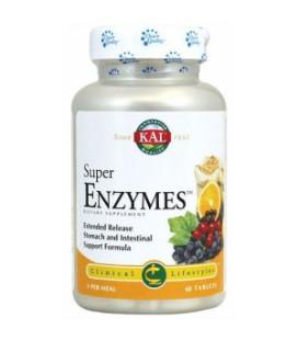 Súper enzymes 60 comprimidos