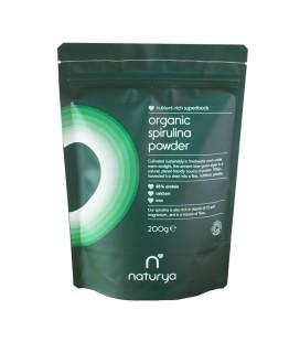Espirulina en polvo orgánica