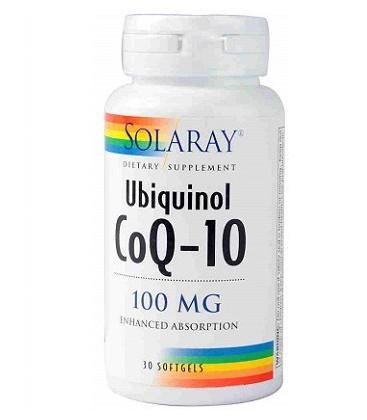 Ubiquinol CoQ-10 100mg. 30 perlas