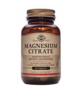 Citrato de magnesio Solgar