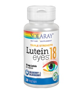 Lutein eyes 18mg  Solaray