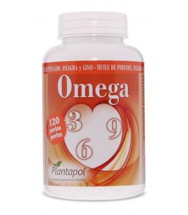 Omega 3-6-9 Plantapol 120 perlas