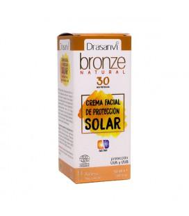 Crema protección solar facial Bronze SPF 30 Drasanvi