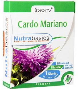 Cardo Mariano Nutrabasics 30 cápsulas