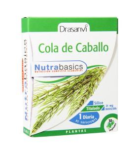 Cola de caballo Nutrabasics 30 cápsulas Drasanvi